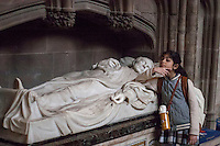 Safina Archdeacon Moore's tomb Lichfield Cathedral