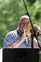 Cabocubajazz Trombonist at Sunfest