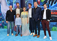 "LOS ANGELES, CA. February 09, 2019: F. Murray Abraham, Gerard Butler, AJ Kane, America Ferrera, Jay Baruchel, Craig Ferguson & Christopher Mintz-Plasse at the premiere of ""How To Train Your Dragon: The Hidden World"" at the Regency Village Theatre.<br /> Picture: Paul Smith/Featureflash"