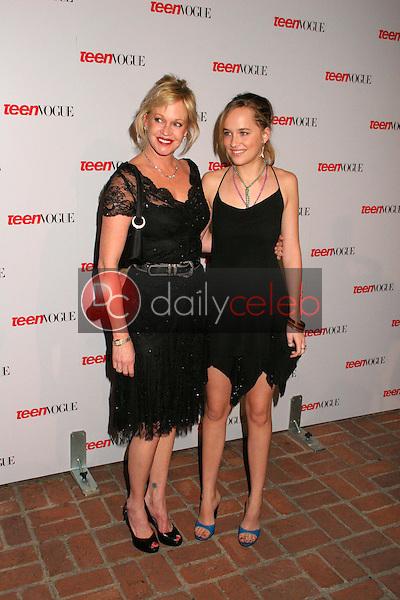 Melanie Griffith and daughter Dakota Johnson