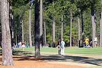 Ainhoa Olarra (ESP) on the 1st during the second round of the Augusta National Womans Amateur 2019, Champions Retreat, Augusta, Georgia, USA. 04/04/2019.<br /> Picture Fran Caffrey / Golffile.ie<br /> <br /> All photo usage must carry mandatory copyright credit (&copy; Golffile | Fran Caffrey)