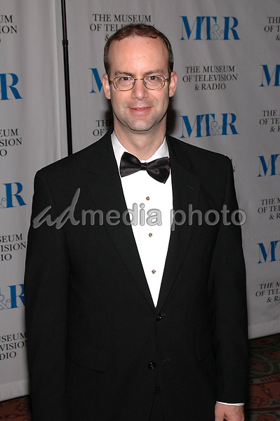 26 May 2005 - New York, New York - Jonathan Adelstein of the FCC arrives at The Museum of Television and Radio's Annual Gala where Merv Griffin is being honored for his award winning career in radio and television.<br />
