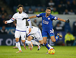 Riyad Mahrez of Leicester City - English Premier League - Leicester City vs Chelsea - King Power Stadium - Leicester - England - 14th December 2015 - Picture Simon Bellis/Sportimage