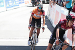 Iván Ramiro Sosa (COL) Team Ineos wins the stage ahead of race leader World Champion Alejandro Valverde (ESP) Movistar Team on the final climb Horquette d'Ancizan at the end of Stage 3 of the Route d'Occitanie 2019, running 173km from Arreau to Luchon-Hospice de France, France. 22nd June 2019<br /> Picture: Colin Flockton | Cyclefile<br /> All photos usage must carry mandatory copyright credit (© Cyclefile | Colin Flockton)