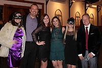 NWA Democrat-Gazette/CARIN SCHOPPMEYER Brooke Johnson (from left), Brian and Mandi Nussbaum, Brittney Daily, Heather Pribislavski and Mike Daily.