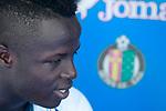 Getafe's Amath Ndiaye during interview. September 12,2017.(ALTERPHOTOS/Acero)