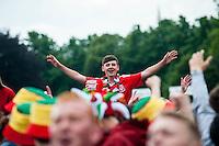2016 06 16 England v Wales Euro16 Fanzone Cardiff