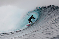 Namotu Island Resort, Nadi, Fiji (Wednesday, September 19th  2018):   -<br /> The South West swell was still around this morning with waist  to head high sets at Cloudbreak, Wilkes and Namotu Lefts. Conditions were super clean with no wind till around lunchtime and there was a full cloud cover with only the occasional glimpse of the sun.  Guests went fishing and caught a number of Mahi Mahi  and some Yellow Fin Tuna. while other guests went snorkelling and standup paddling. <br /> Photo: joliphotos.com