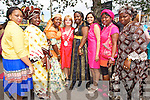 Pictured at the Tralee International Resource Centre for President Michael D. Higgins visit on Wednesday, from left: Colette Mana, Kemi Falade and Teresa Elumelu, Gillian Wharton-Slattery, Bimpe Obadina, Richa Ubadhyay, Eunice Mbabou and Risikat Kareem.