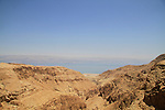 Nahal Darga in the Judean desert overlooking the Dead Sea