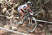 9th September 2017, Smithfield Forest, Cairns, Australia; UCI Mountain Bike World Championships; Irina Kalentyeva (RUS) riding for Moebel Maerki MTB Pro Team during the elite womens cross country race