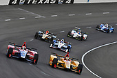Verizon IndyCar Series<br /> Rainguard Water Sealers 600<br /> Texas Motor Speedway, Ft. Worth, TX USA<br /> Saturday 10 June 2017<br /> Alexander Rossi, Andretti Herta Autosport with Curb-Agajanian Honda, Ryan Hunter-Reay, Andretti Autosport Honda<br /> World Copyright: Scott R LePage<br /> LAT Images<br /> ref: Digital Image lepage-170610-TMS-5308