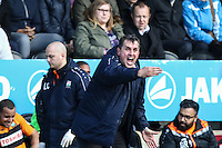 Martin Allen (Manager) of Barnet during the Sky Bet League 2 match between Barnet and Luton Town at The Hive, London, England on 28 March 2016. Photo by David Horn.