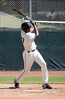 Sundrendy Windster -San Francisco Giants 2009 Instructional League. .Photo by:  Bill Mitchell/Four Seam Images..