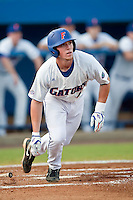 June 11, 2010:     Florida Infielder Nolan Fontana (4) during game one of NCAA Gainesville Super Regional action between the University of Florida Gators and Miami Hurricanes at Alfred A. McKethan Stadium on the campus of University of Florida in Gainesville.   Florida defeated Miami 7-2 to take a 1-0 lead in the best of three series............