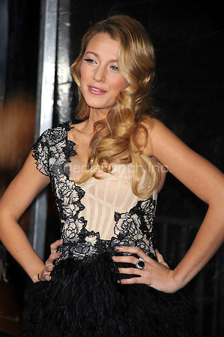 Blake Lively attends the NY film premiere of Where The Wild Things Are at Alice Tully Hall  in New York City. October 13, 2009. Credit: Dennis Van Tine/MediaPunch