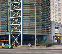 Multi-storey car park at Grunerstrasse near Alexanderplatz, Berlin, Germany. Picture by Manuel Cohen