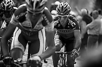 E3 Prijs Harelbeke 2012.Philippe Gilbert on the Taaienberg.Phil had a total off-day today; he would abandon little after this..