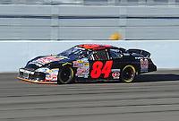 Feb 29, 2008; Las Vegas, NV, USA; Nascar Nationwide Series driver Mike Harmon during practice for the Sams Town 300 at the Las Vegas Motor Speedway. Mandatory Credit: Mark J. Rebilas-