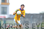 Anthony Maher Feale Rangers in action against Saint Brendans in the Quarter Finals of the County Championship at Austin STack PArk on Sunday.