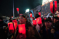BUENOS AIRES, ARGENTINA, 26.07.2013 - PROTESTO MORADIA - Manifestantes protestam por melhorescondições de moradia. Cerca de 200.000 pessoas vivem em favelas que não têm água potável, saneamento, gás e outros serviços. Em Buenos Aires, capital da Argentina, nesta sexta-feira, 26. (Foto: Patricio Murphy / Brazil Photo Press).