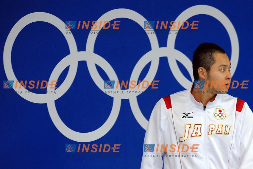 Kosuke Kitajima Japan Gold Men's 100M Breaststroke<br /> National Aquatics Center<br /> Pechino - Beijing 11/8/2008 Olimpiadi 2008 Olympic Games<br /> Foto Andrea Staccioli Insidefoto