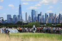 Justin Thomas (USA) in action during the final round of the Northern Trust played at Liberty National Golf Club, Jersey City, USA. 11/08/2019<br /> Picture: Golffile | Phil INGLIS<br /> <br /> All photo usage must carry mandatory copyright credit (© Golffile | Phil INGLIS)