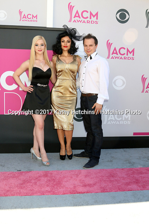 LAS VEGAS - APR 2:  Absinthe Cast memebers at the Academy of Country Music Awards 2017 at T-Mobile Arena on April 2, 2017 in Las Vegas, NV