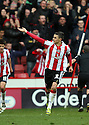 Matthew Lowton of Sheffield United celebrates scoring their second goal. - Sheffield United v Stevenage - npower League 1 - Bramall Lane, Sheffield  - 28th April, 2012. © Kevin Coleman 2012