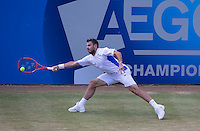 STANISLAS WAWRINKA (SUI)<br /> <br /> Aegon Championships 2014 - Queens Club -  London - UK -  ATP - ITF - 2014  - Great Britain -  12th June 2014. <br /> <br /> &copy; AMN IMAGES