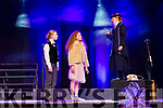 Caoimhe Scanlon (Mary Poppins) sings to the children  Ella Fitzgerald and Ailbhe Fleming at the Currow NS parents association musical Mary Poppins  in Killarney Racecourse on Sunday