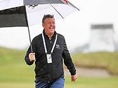 1st October 2017, Windross Farm, Auckland, New Zealand; LPGA McKayson NZ Womens Open, final round;  Greg Turner braves the rain