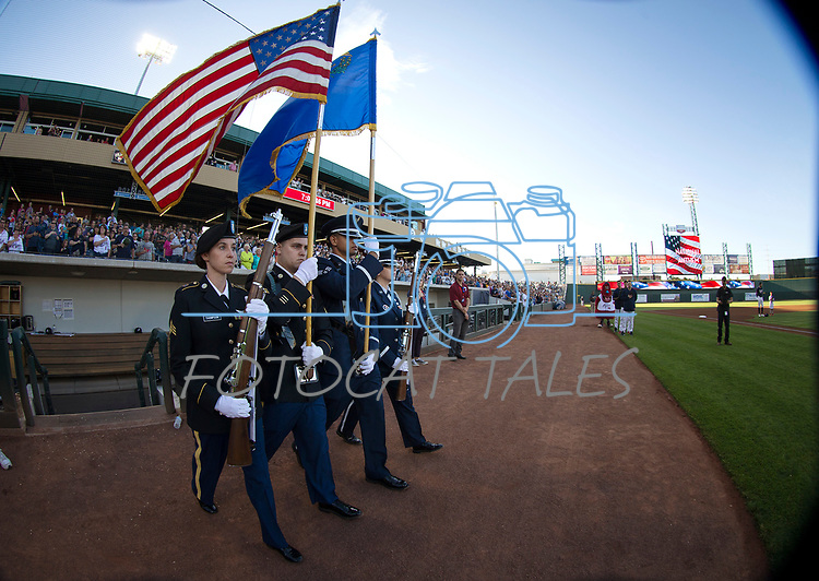 Images from the Las Vegas 51s 9-5 win over the Reno Aces in Reno, Nev. on Saturday, June 3, 2017. <br />