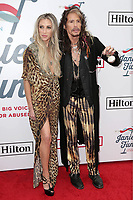 LOS ANGELES - FEB 10:  Aimee Preston, Steven Tyler at the 2019 Steven Tyler's Grammy Viewing Party at the Raleigh Studios on February 10, 2019 in Los Angeles, CA