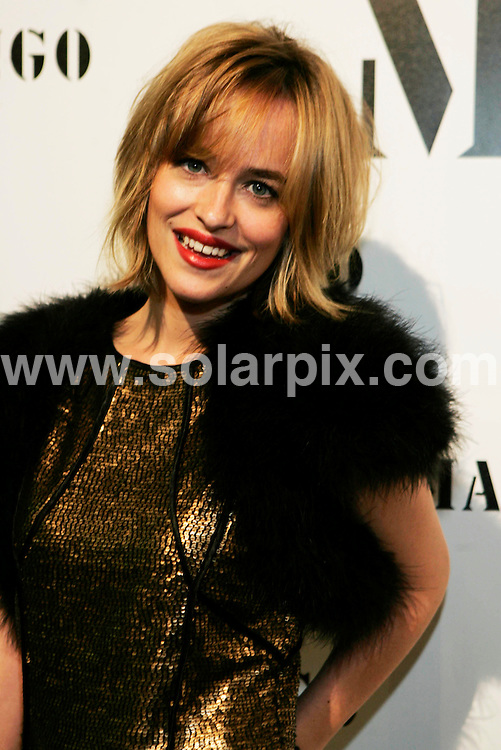 **ALL ROUND PICTURES FROM SOLARPIX.COM**.**WORLDWIDE SYNDICATION RIGHTS**NO PUBLICATION IN SPAIN**.Mango fashion models  Dakota Johnson and  Sandy Meyer Wolden at the  Mango catwalk Fashion in Barcelona in Spain...JOB REF:7896-MER       DATE:13-11-08.**MUST CREDIT SOLARPIX.COM OR DOUBLE FEE WILL BE CHARGED* *UNDER NO CIRCUMSTANCES IS THIS IMAGE TO BE REPRODUCED FOR ANY ONLINE EDITION WITHOUT PRIOR PERMISSION*