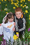 Little Buds: Pictured at the launch of this year's Daffodil day in Rock Street on Monday were Dara and Muirne Scanlon, Meadowlands, Tralee. Daffodil Day takes places on Friday 20 March.