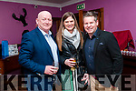 "Guess The Chef Dinner: Pictured at ""Guess the Chef"" dinner at Kilcooley's Country Guest house, Ballybunion on Friday night in aid of Ballybunion Tidy towns were Ger Walsh & Patricia & Sean Browne."