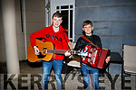 The talanted brothers Daragh and Conor Breen of Kilflynn at the audition for Britains Got Talent at the Ashe Hotel on Monday last.
