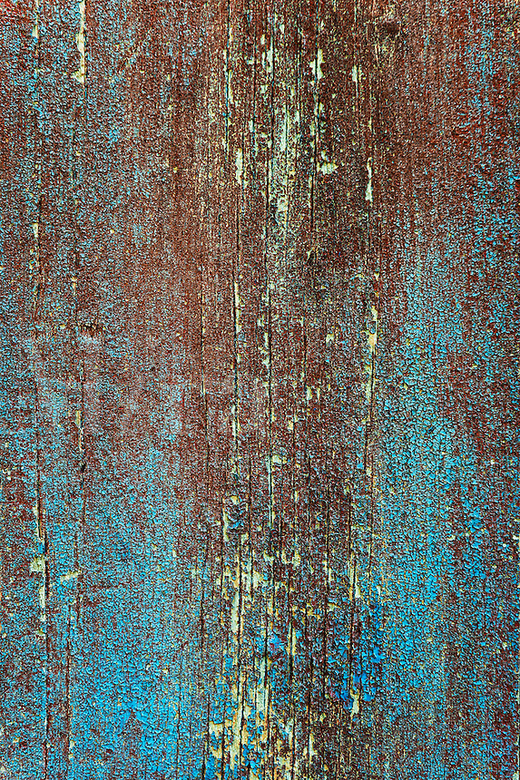 Peeling paint texture abstract.