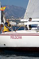 Esp 3276  .Milocha  .Francisco Martinez  .Vicente Guijarro  .RCN Torrevieja  .Fortuna 12 .XXII Trofeo 200 millas a dos - Club Náutico de Altea - Alicante - Spain - 22/2/2008