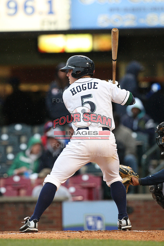 April 20, 2010: Grant Hogue (5) of the Lexington Legends at Applebee's Park in Lexington, KY. The Legends are the Class A affiliate of the Houston Astros. Photo by: Chris Proctor/Four Seam Images