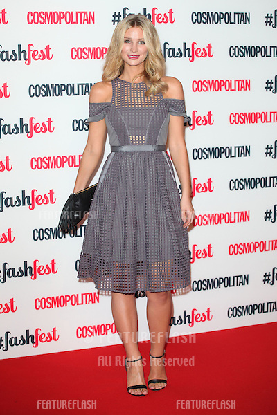 Olivia Newman-Young  arriving for the Cosmopolitan Fashfest, at Battersea Evolution, London. 18/09/2014 Picture by: Alexandra Glen / Featureflash