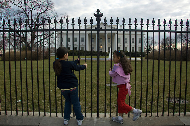 Washington D. C., White House, visitors, not released