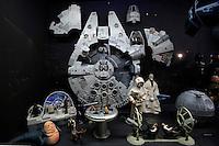 Roma 27-10-2016. Vittoriano. Mostra 'Guerre Stellari play'<br /> Rome 27th October 2016. Vittoriano. Exhibition 'Star Wars play'<br /> Foto Samantha Zucchi Insidefoto