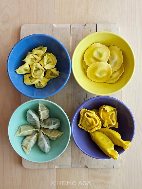 Teigtaschen (dumplings).