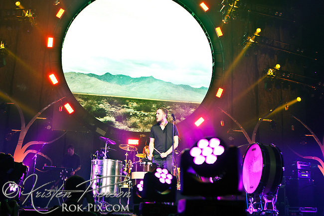 Imagine Dragons perform at Mohegan Sun Arena