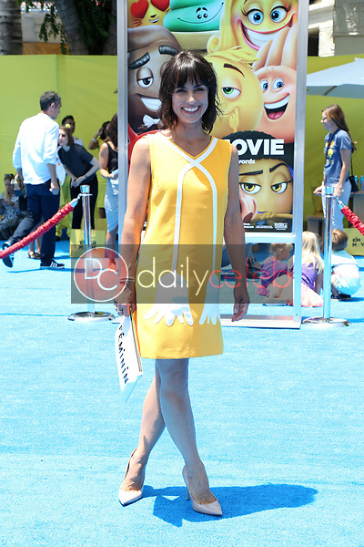"Constance Zimmer<br /> at the premiere of ""The Emoji Movie,"" Village Theater, Westwood, CA 07-23-17<br /> David Edwards/DailyCeleb.com 818-249-4998"