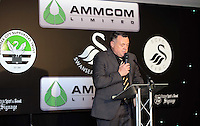 Pictured: Nigel Rees Wednesday 11 May 2016<br /> Re: Awards Dinner 2016, at the Liberty Stadium, south Wales, UK.