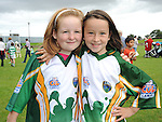 Susan Smyth Newtown Meadows and Lauren Biddulph Termon Abbey pictured at the O'Raghalligh's sports day. Photo: www.pressphotos.ie
