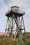 Water tower, Mendocino Village